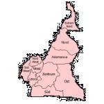 Kamerun Karte