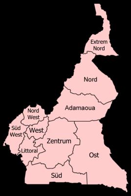 Regionen_Kamerun_DE