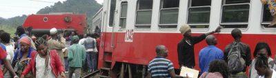 Zugunglück in Kamerun